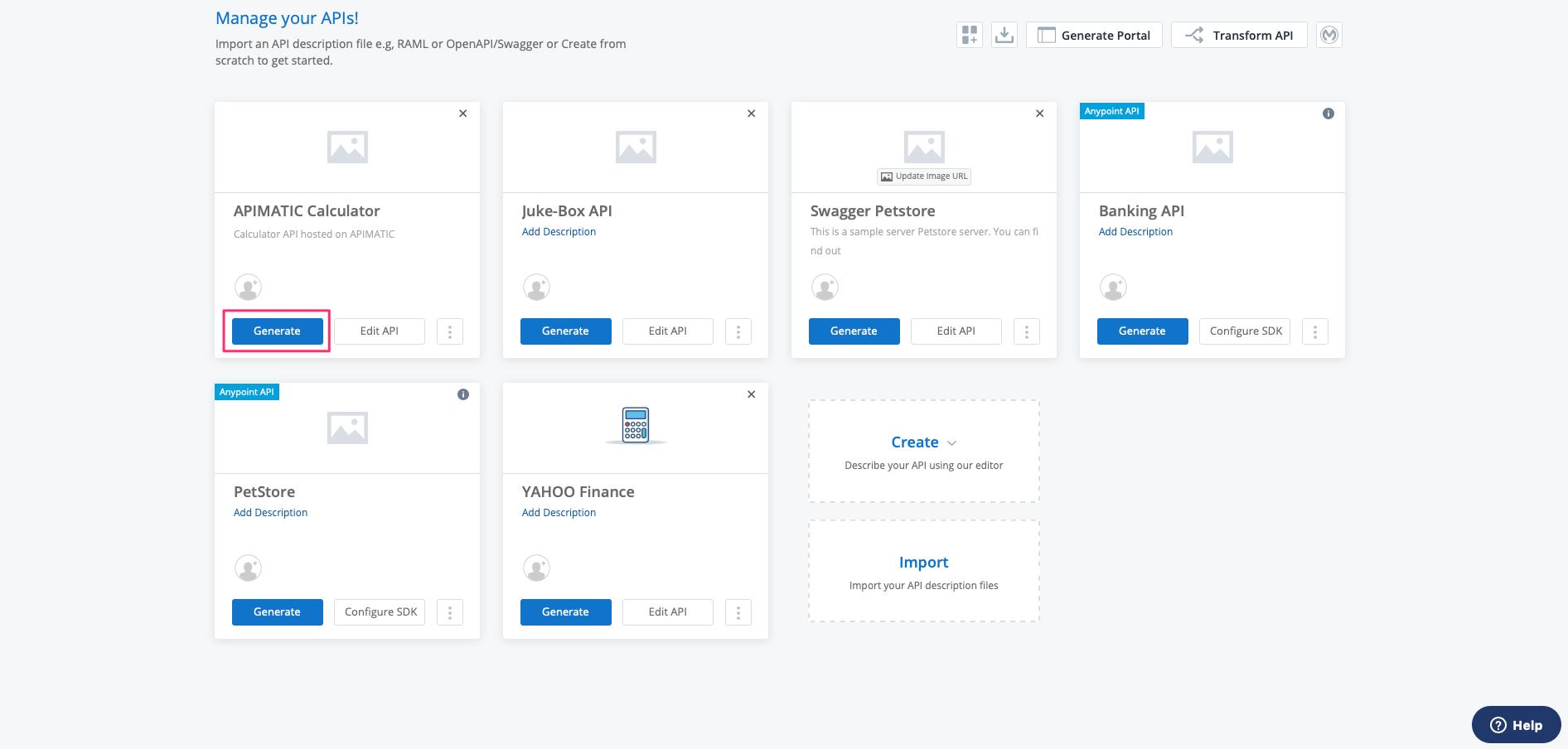 Developer Experience Portal Landing Page