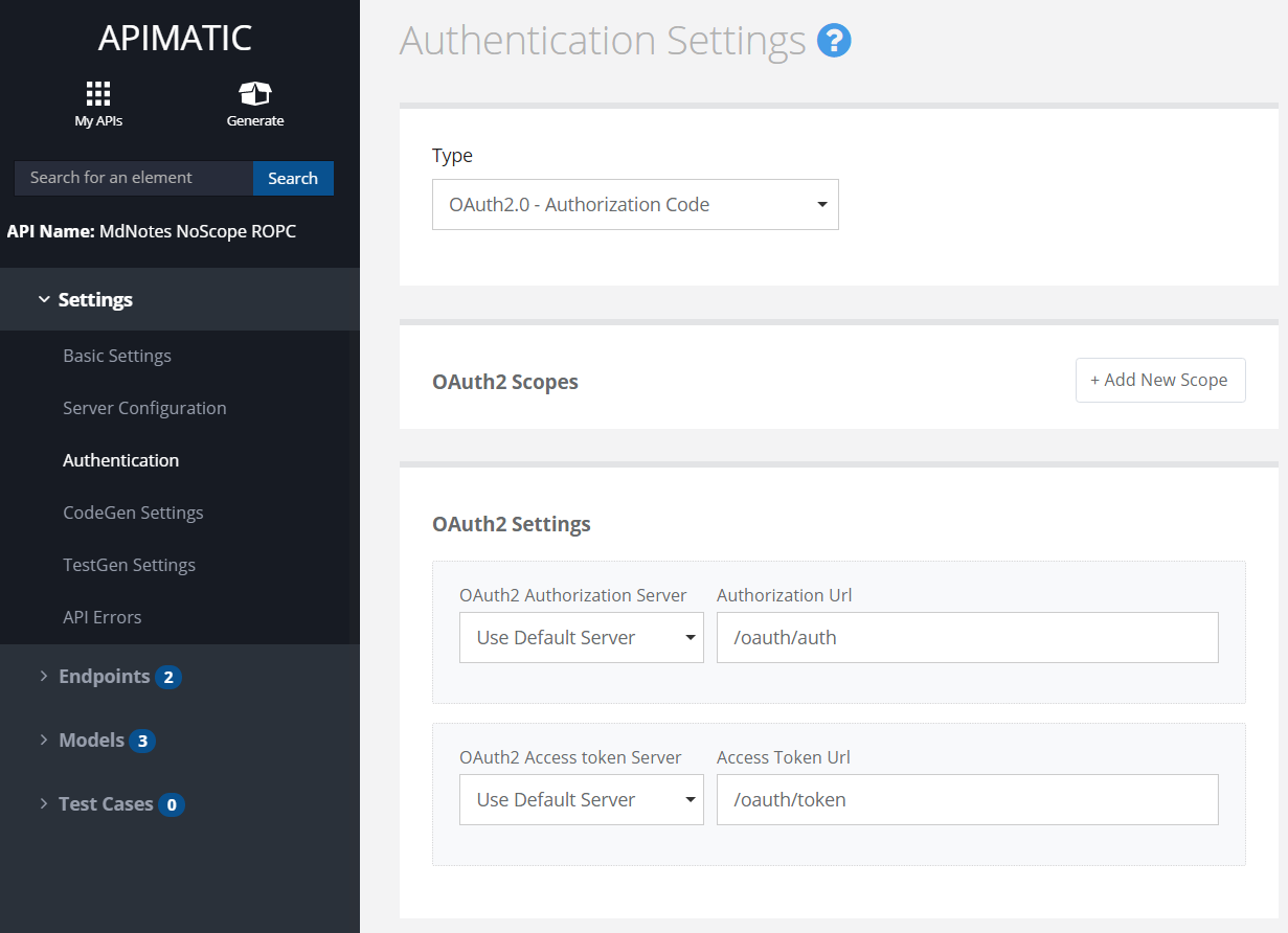 oauth2-auth-settings