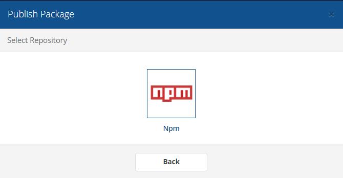 Choose npm