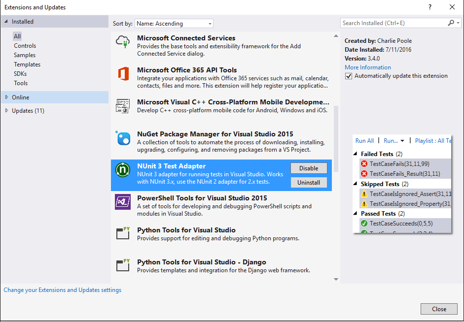 Testing frameworks apimatic docs after a successful build of the generated solution in visual studio you can run the tests from the test explorer and a generated report will tell you malvernweather Gallery